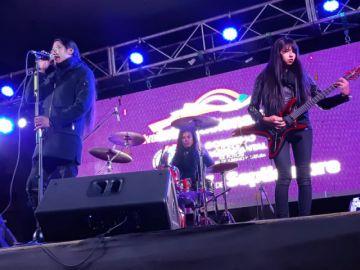 Krápula cierra la Noche de Rock en el Campo Ferial