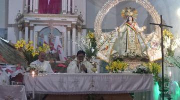 La Virgen de la Merced estrena una nueva capa