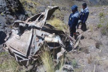 Accidente deja ocho muertos en Tinguipaya