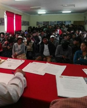 """""""Cabildo de representantes"""" será en la ciudad potosina de Uyuni"""