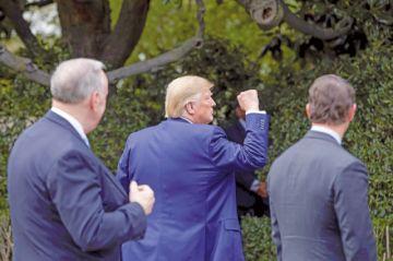 Casa Blanca intentó esconder llamada de Trump a Ucrania