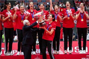 China gana la Copa del Mundo de voleibol