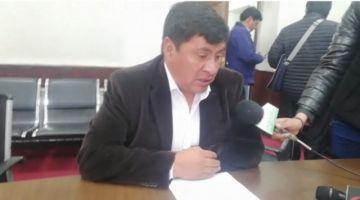 Gobernador dice que las resoluciones de Uyuni ya estaban redactadas