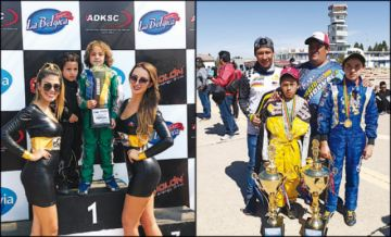 Pilotos potosinos se acercan al título nacional de karting