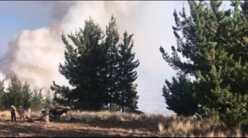 Incendio en Parque Tunari causa alarma en la Llajta