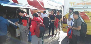 El Club Pichincha arribó ayer a Ecuador