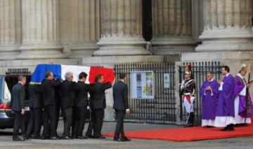 Francia rinde su homenaje al fallecido Jacques Chirac
