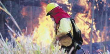 Los chaqueos persisten y activan nuevos incendios en la Chiquitania