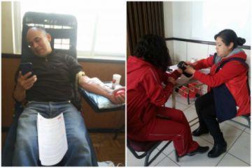 Continúan campaña de donación voluntaria de sangre
