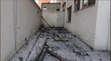 Cochabamba: incendio en construcción afectó a edificios aledaños