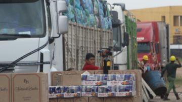 La Aduana decomisa tres camiones con contrabando