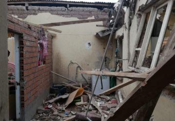 Una explosión de garrafa causa destrucción parcial de una casa