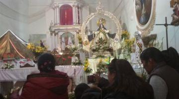 Esta noche acaba novena de la Virgen de la Merced