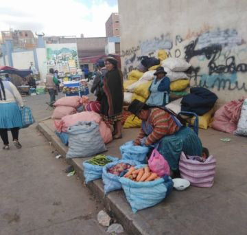 Temen que suba el precio de los alimentos en Potosí