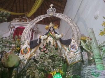 Homenajearon a la Virgen de la Merced