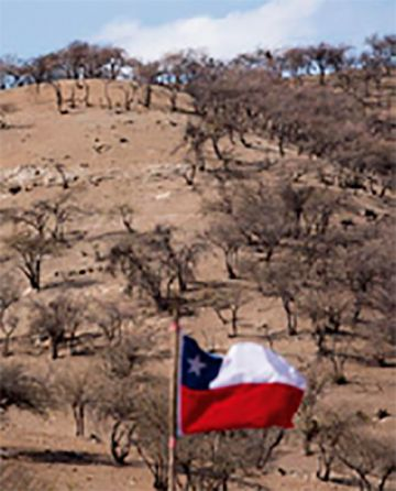 Chile: Derrumbe en una mina se cobra una vida