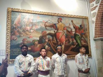 Afrobolivianos rescatan sus raíces en la Casa de Moneda