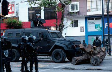 Acaba el paro de transporte  y hay tensa calma en Ecuador