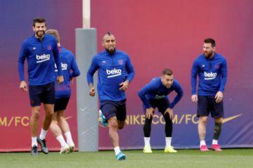 Barcelona pone a prueba su recuperación