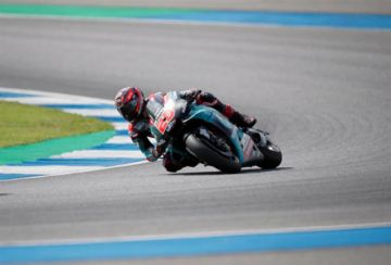 """Quartararo logra la """"pole"""" y récord Gran Premio de Tailandia de MotoGP"""