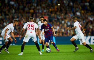 Barcelona exhibe su pegada y golea a Sevilla en la LaLiga