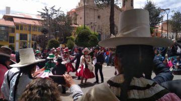 Potosí celebró el Día de la Cueca