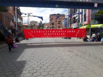 Las calles ya están bloqueadas y hay movilizaciones en apoyo a Comcipo