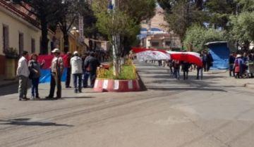 Reportan los primeros bloqueos callejeros en avenidas de Potosí