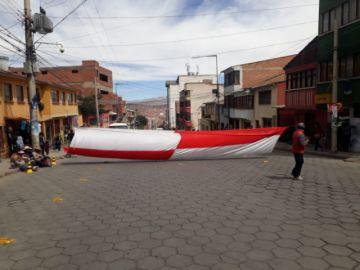 Dirigencia de Comcipo fortalecerá huelga de hambre en La Paz