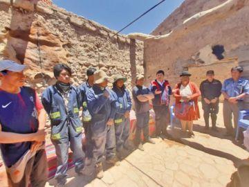 Inauguraron oficialmente obras en casa Medinaceli