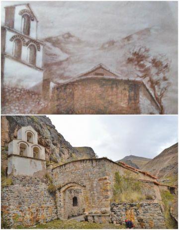 Muestra de Machacamarca es plasmada en pinturas