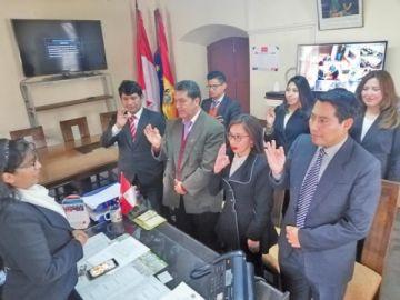 Siete nuevos funcionarios forman parte de la Fiscalía