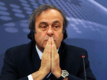 Michel Platini cumple sus cuatro años de sanción