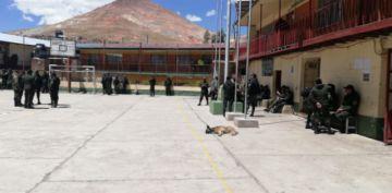 La Policía en Potosí está acuartelada durante el paro cívico