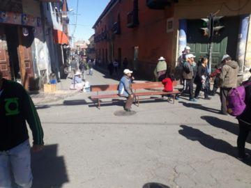 El paro en Potosí se radicaliza y aparecen bloqueos en varios lugares