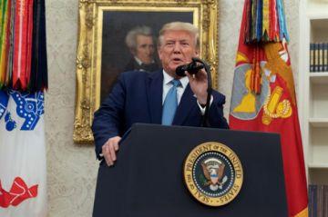 Trump niega cooperación en posible juicio político