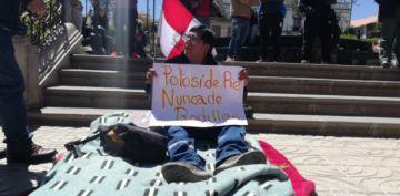 Candidato de Bolivia Dice No asume ayuno voluntario por el litio