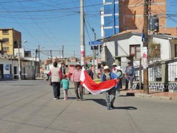 Cívicos fortalecen control en la ciudad y las garitas están libres