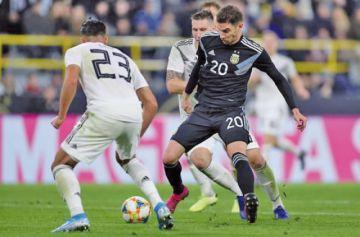 Argentina despierta y empata a Alemania