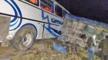 Accidente en la vía Cochabamba-Santa Cruz deja dos muertos