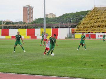 La Sub-23 cae por la mínima diferencia ante Aragua