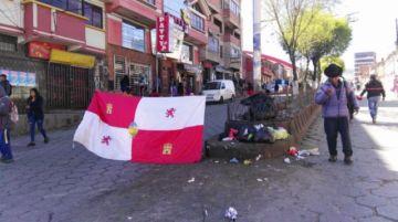 Los bloqueos se reinstalan en el cuarto día de la huelga indefinida de Comcipo