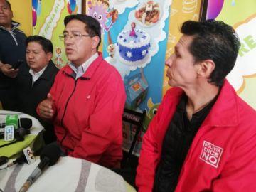 Bolivia Dice No promueve el voto castigo contra el MAS