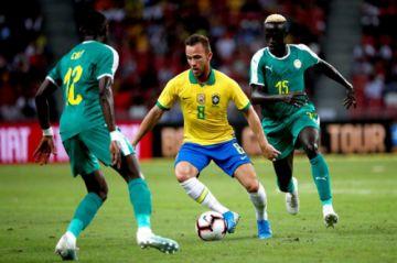 Senegal logra un empate ante Brasil