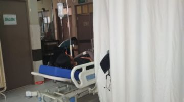 Hay al menos cuatro heridos hospitalizados
