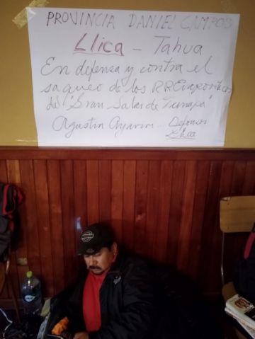 Se mantiene la huelga de hambre de Comcipo en La Paz