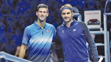 Djokovic y Federer dejan Shanghái