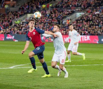 España corta su racha triunfal con el empate ante Noruega