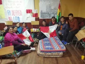Pumari suspende huelga de hambre para encabezar el diálogo