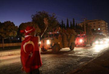 Tropas turcas avanzan y hay amenaza del Estado islámico